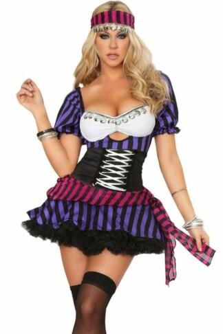 Fortune Teller Diva Halloween Costume