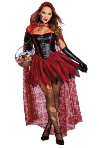 Big Bad Red Costume