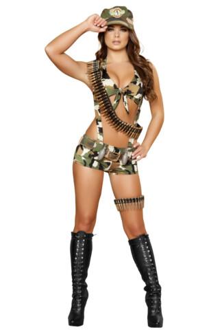 Seductive Soldier Costume
