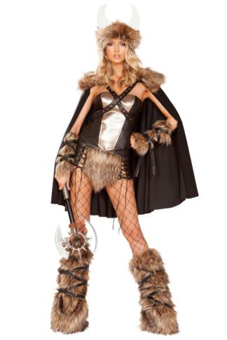 Viking Queen Warrior Costume