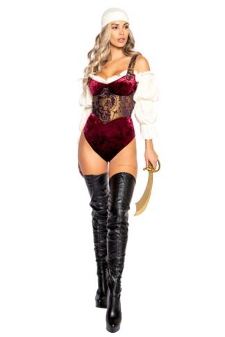 Elegant Pirate Maiden Costume