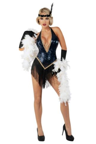 Jazzy Jezebel Flapper Costume