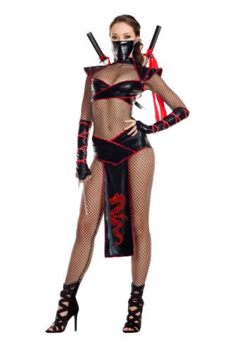 Alluring Ninja Assassin Costume