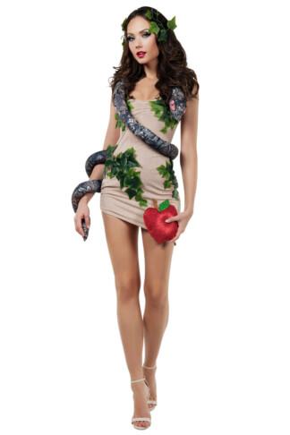 Sexy Eve & Snake Costume
