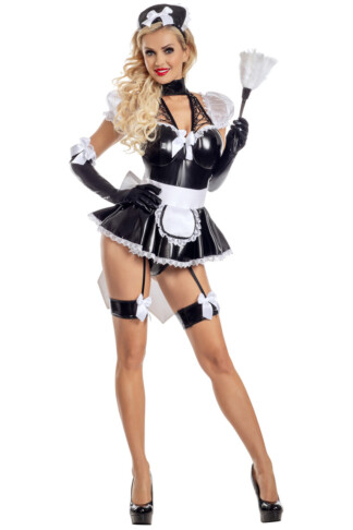Lace-Up Maid Costume