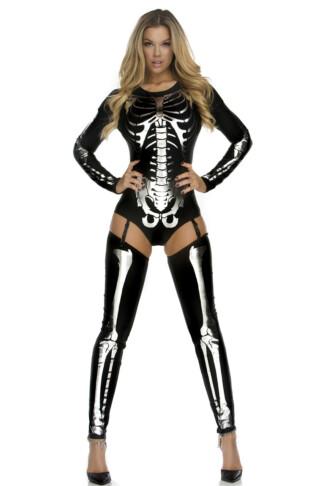 Snazzy Skeleton Costume