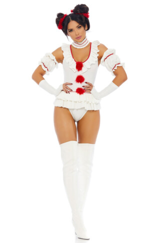 Let's Play a Game Movie Clown Costume