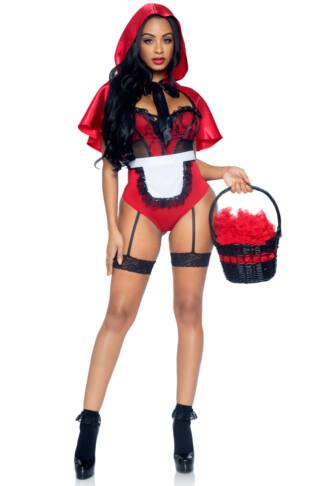 Naughty Miss Red Costume
