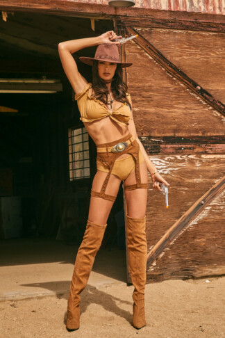 Wild and Sexy Western Costume